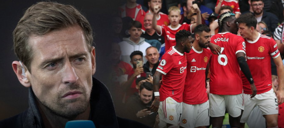 Crouch has pointed to Manchester United's only blind spot in this team